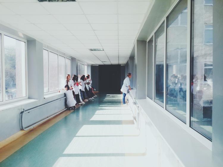 nurses in nursing school